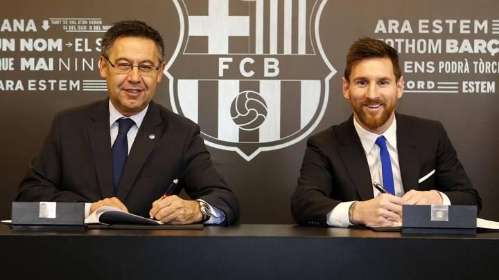 مسی از بارسلونا جدا خواهد شد؟