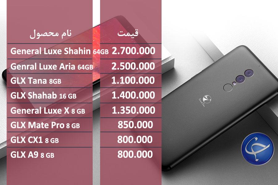 آخرین قیمت تلفن همراه در بازار (بروزرسانی 16 شهریور) +جدول