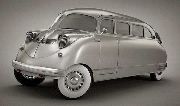 با ۱۰ اتومبیل جالب و عجیب جهان آشنا شوید؛ اجداد کلاسیک! + تصاویر
