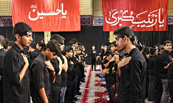 نوجوانان بوشهری در همایش احلی من العسل شرکت کردند