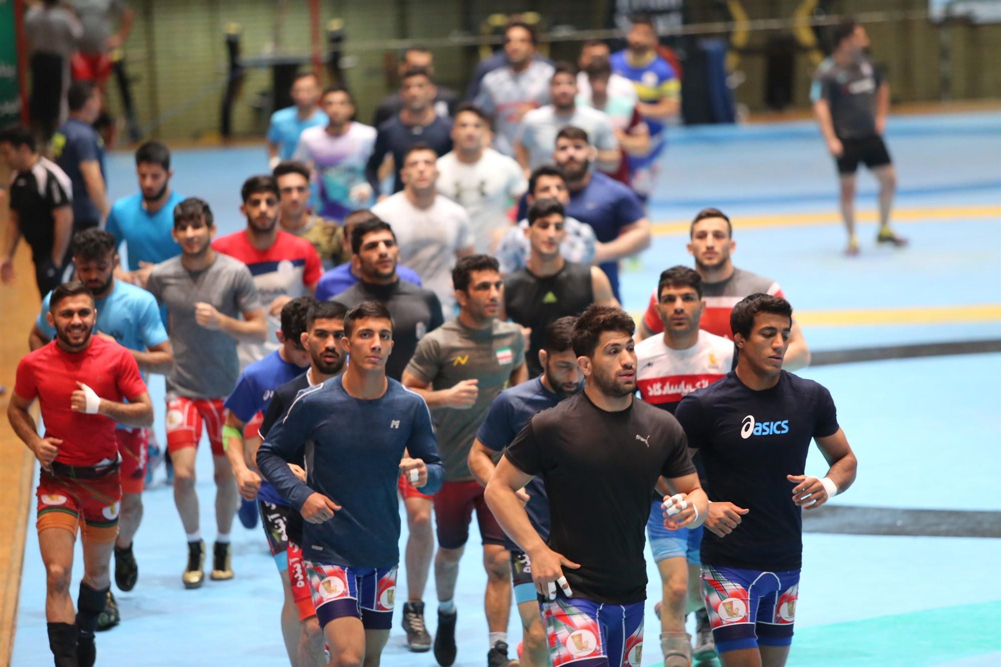 باشگاه خبرنگاران -آخرین مرحله تمرینات آزاد و فرنگی کاران برای حضور در میدان جهانی