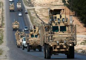 دهها کامیون نظامی آمریکایی وارد پایگاه عین الاسد شدند