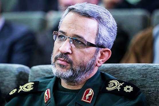 سردار غیب پرور جانشین فرماندهی کل سپاه در قرارگاه مرکزی امنیتی امام علی (ع) شد