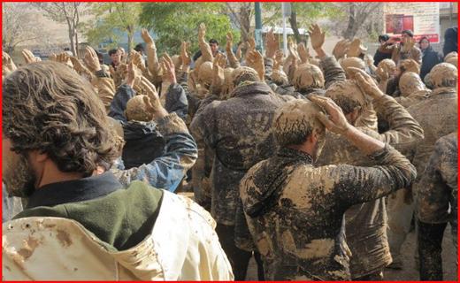 آئین عزاداری حسینی در کردستان + تصاویر