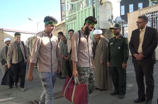 اعزام ۱۰۰۰ نفر روز از بسیجیان جهادی تفرش به مناطق محروم