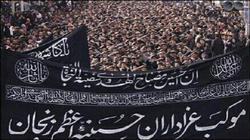 طنین یاحسین در یوم العباس زنجان؛ تا ساعتی دیگر
