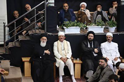 سخنان موبد زرتشتیان در مجلس عزاداری امام حسین(ع) + فیلم