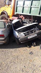 باشگاه خبرنگاران -تصادف مرگبار در جاده یاسوج به کاکان /۲ کشته و یک زخمی در تصادف پراید با کامیون