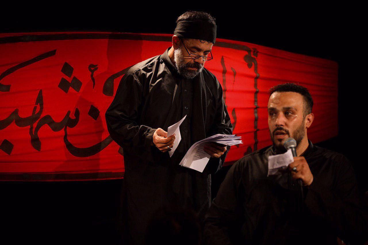گلچین مداحی شب هشتم محرم ۹۸ با نوای محمود کریمی + دانلود