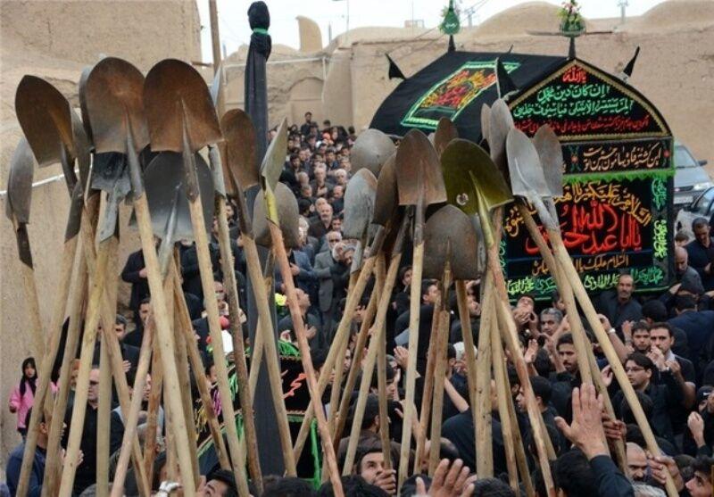 آیینهای عزاداری محرم در خراسان شمالی+ تصاویر