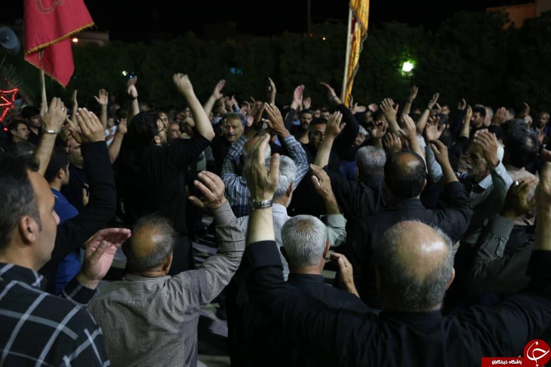 عزاداری شب تاسوعای حسینی در فارس/سلام بر علمدار کربلا + تصاویر