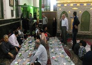 اطعام دهی بیش از ۱۰ هزار نفر در امامزادگان و بقاع متبرکه استان همدان