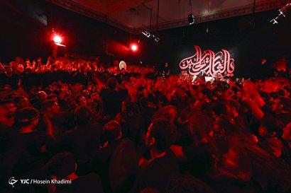 هیئتِ ما/ عزاداری در مسجد ساعت اراک