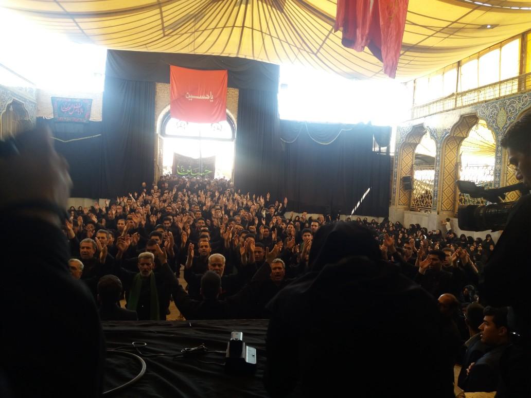 عزاداری تاسوعای حسینی در کرمان وتصاویر