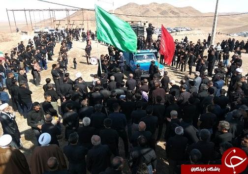 مراسم عزاداری تاسوعای حسینی در خراسان جنوبی+تصاویر