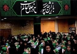 مراسم شیرخوارگان در حسینیه اعظم زنجان