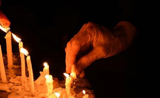 قدم ها راهی چهل منبر دعا در تاسوعای حسینی شد