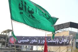 تاسوعای حسینی، زنجان غرق عزا و ماتم