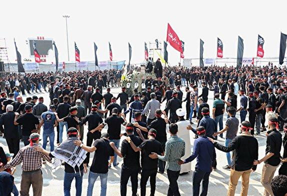 باشگاه خبرنگاران -جلوه های اجتماع بزرگ حسینیان در هرمزگان