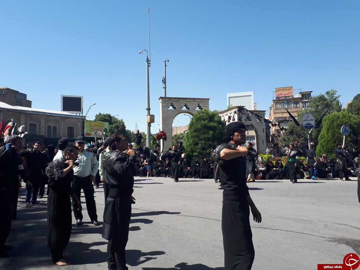 کرمانشاهیان همسو با مردم سراسر جهان به سوگ سالار شهیدان نشستند