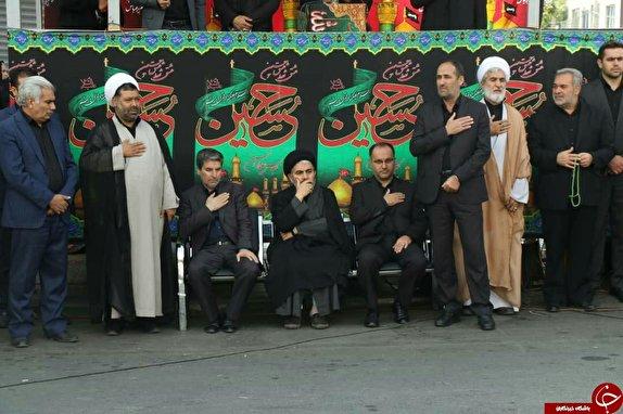 رخت عزای تاسوعای حسینی بر تن آذربایجان غربی؛ «ای آفتاب علقمه روحی لک الفدا»