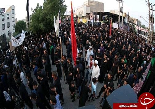 آبادان و خرمشهر در سوگ تاسوعای حسینی +تصاویر
