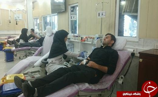 مشارکت هزار و ۲۰۰ نفر در طرح نذر خون در قزوین