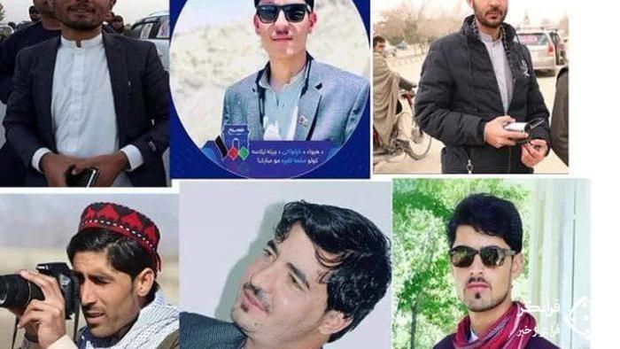 آزادی ۶ خبرنگار از چنگال تروریستها  + عکس
