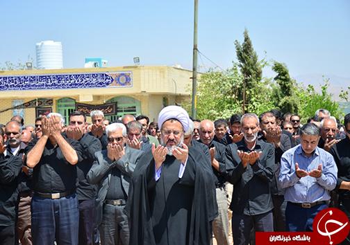 اقامه نماز ظهر تاسوعا در بقاع متبرکه فارس