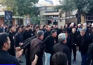 مراسم عزاداری عاشقان حسینی در روز تاسوعا/ حال و هوای عزاداران حسینی در آران و بیدگل + فیلم و تصاویر