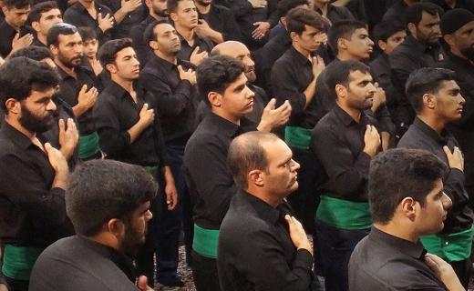 حسینیه ایران یکپارچه غرق در حرن و ماتم شد+ تصاویر