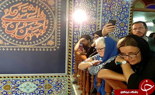 عشق و ارادت یزدیها در قاب دوربین گردشگران ماندگار شد+ تصاویر