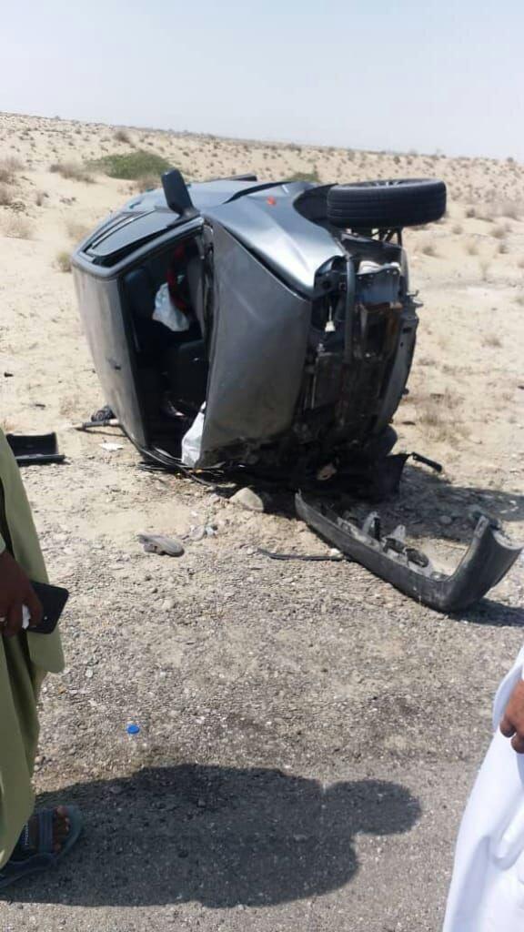 ۶ مجروح در سانحه رانندگی محور کنارک/ انتقال مصدومین با اورژانس هوایی+تصویر