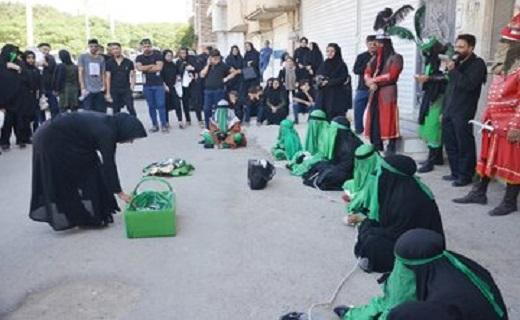 برگزاری آئین چهل منبر در خرمآباد به روایت تصویر