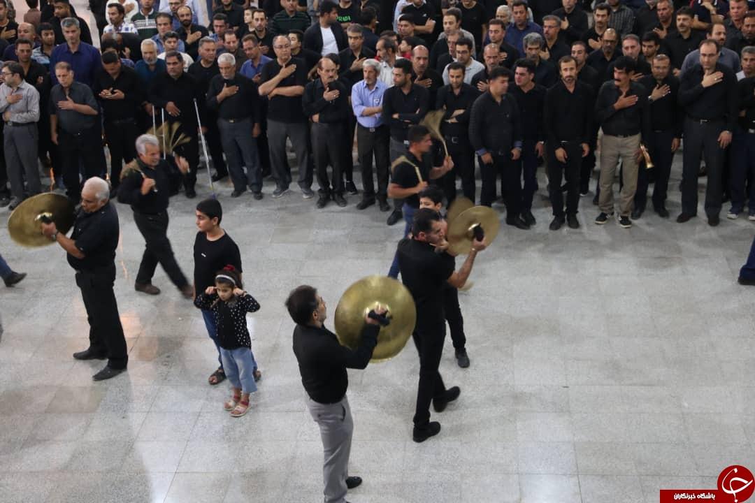 عزاداری مردم فارس در شب عاشورای حسینی + تصاویر