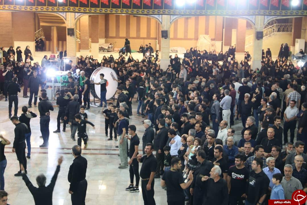 عزاداری مردم فارس در شب عاشورای حسینی