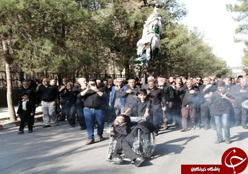 خراسان جنوبی سیاه پوش سالار شهیدان در روز عاشورا