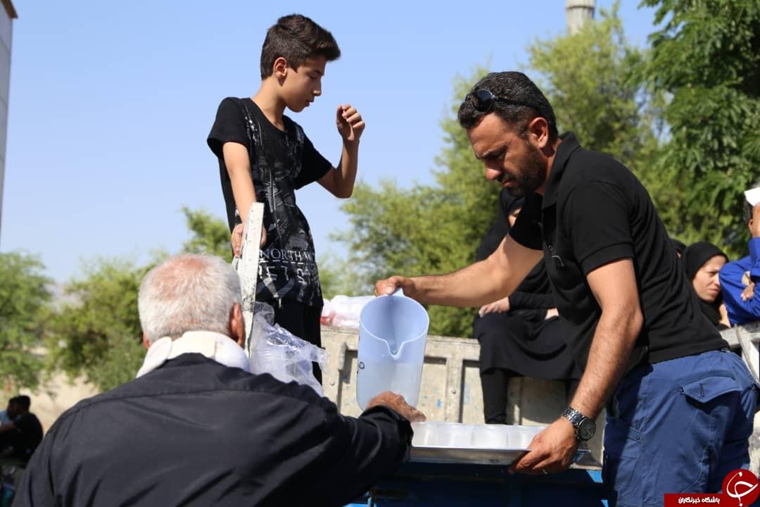 ندای یا حسین (ع) در فارس طنین انداز شد/فارس در عزای سید و سالار شهیدان به سوگ نشست