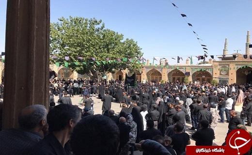 قزوین در روز عاشورای حسینی غرق ماتم و اندوه شد