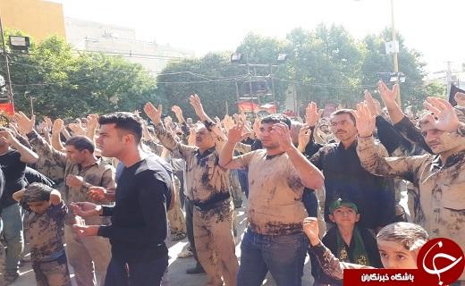 برگزاری مراسم عاشورای حسینی در لرستان+تصاویر