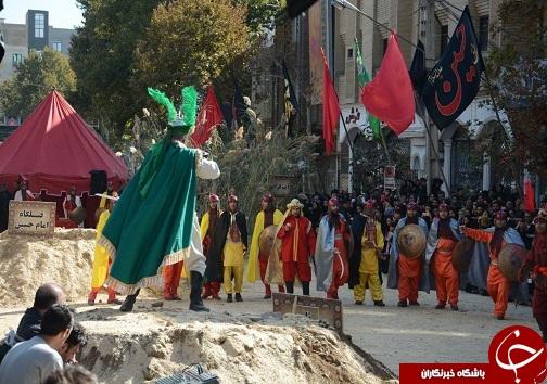 برگزاری مراسم شبیه خوانی عاشورای حسینی در ارومیه