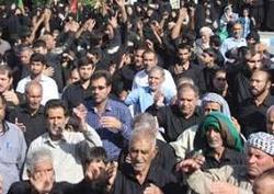 برگزاری آئین عاشورای حسینی در شهرستان دهلران