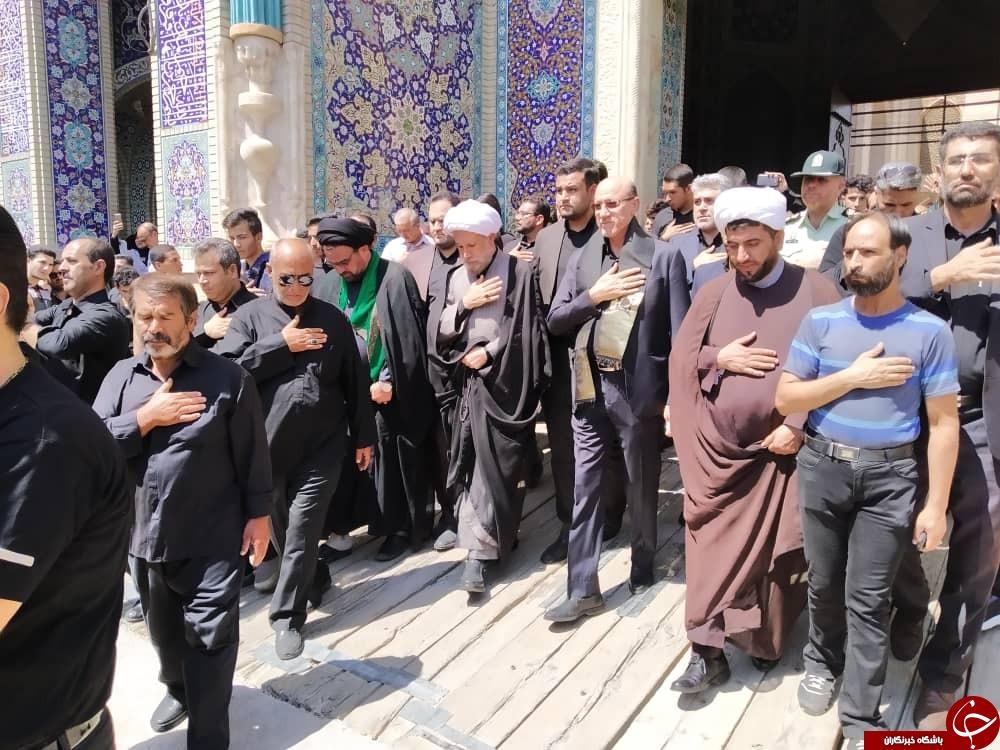 ندای یا حسین (ع) در فارس طنین انداز شد/فارس یکپارچه غرق در عزای سید و سالار شهیدان + تصاویر