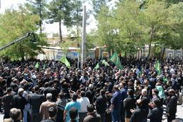 جلوه های ویژه از ارادت مردم شهر یاسوج در روز عاشورا