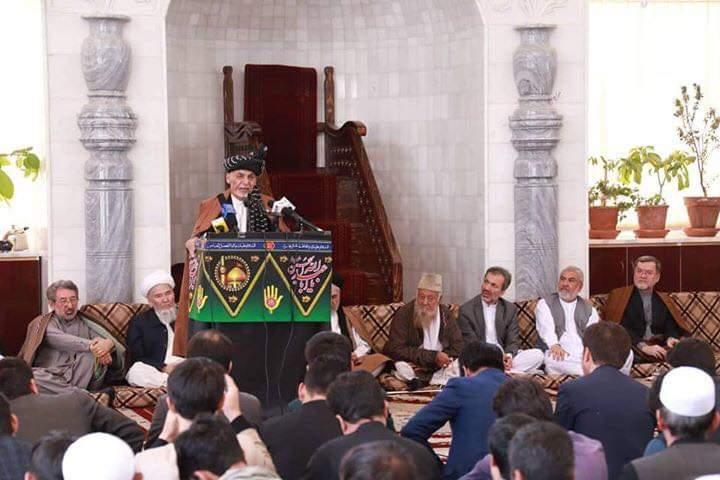 اشرف غنی: امام حسین (ع) معلم بزرگ آزادی و آزادگی برای همه نسل ها و عصرها است