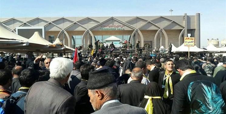 تردد۴۴ هزار و ۴۹۶ زائر ایرانی و خارجی از مرز مهران