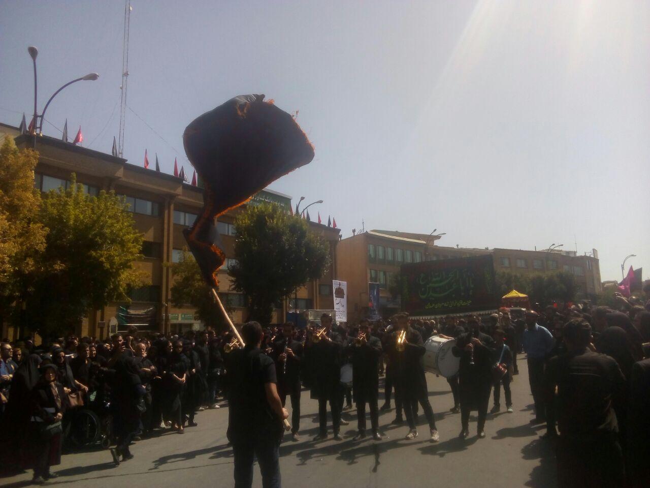 جلوههای ارادت به سالار شهیدان در قاب دوربین باشگاه خبرنگاران همدان