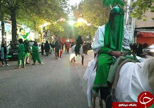 مردم دیار علویان نوای شام غریبان سحر ندارد سر دادند + تصاویر