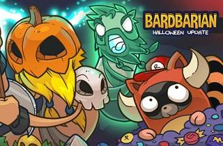 مبارزه با امواج مختلف دشمنان در بازی Bardbarian