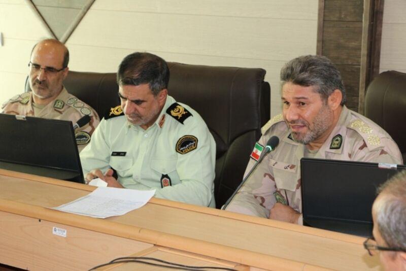 آمادگی کامل نیروی انتظامی و مرزبانی برای خدمتگزاری به زوار اربعین